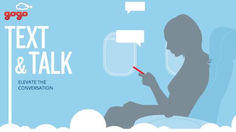 Nuevo servicio Text & Talk de Gogo permitirá hacer llamadas desde el cielo
