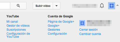 Cuenta Youtube