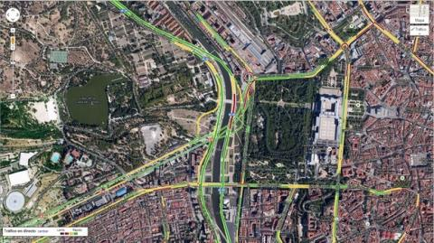 Tráfico en Google Maps