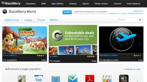 BlackBerry 10.2.1 permite instalar cualquier app de Google Play