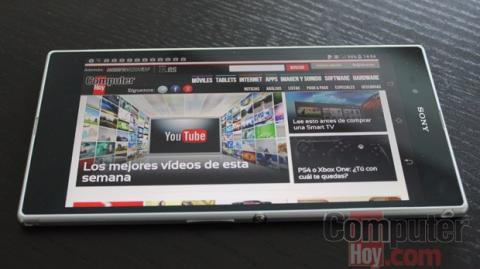 Sony Xperia Z Ultra pantalla