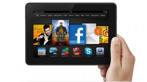 Kindle Fire HDX 7, ya en stock en España