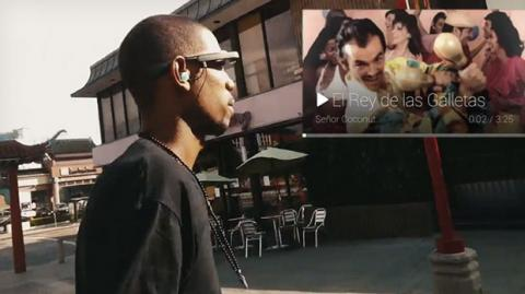 Google Glass Música