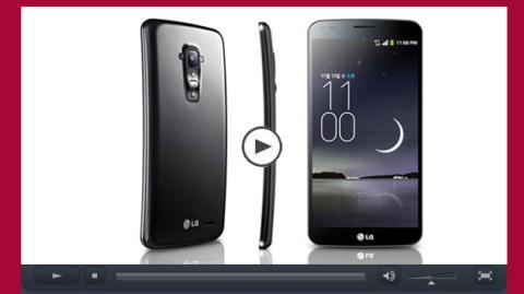 Vídeo del LG G Flex, el primer smartphone que se autorepara (vídeo)