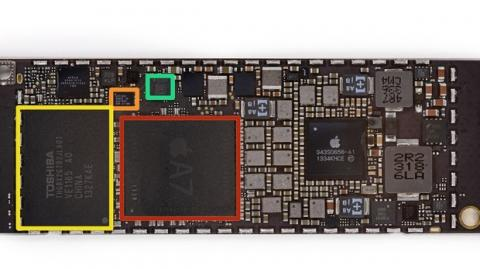 Chips iPad Mini Retina. iFixit