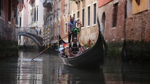 Google Street View te lleva a pasear en góndola, en Venecia
