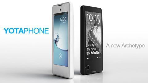 YotaPhone, el smartphone de dos caras