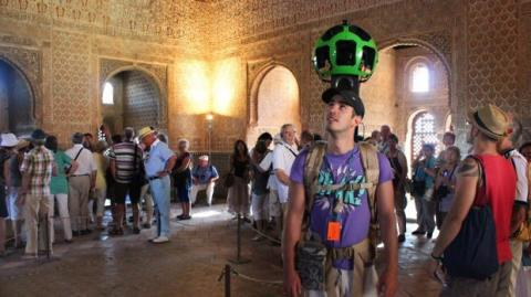 Google Street View Alhambra