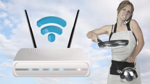 Con una olla se puede ampliar la señal WiFi