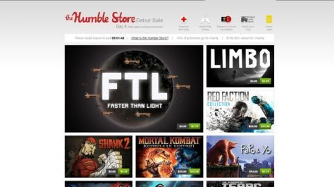 The Humble Store, una tienda de videojuegos solidaria