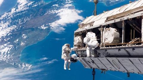 Estación Espacial Internacional. Wikipedia