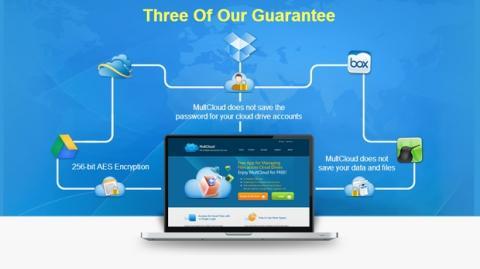 MultCloud, fusiona DropBox, GDrive, SkyDrive en una sola nube