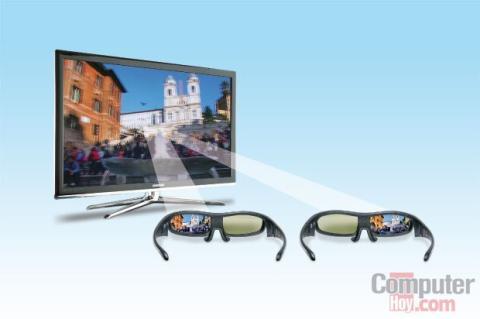 tecnologia 3d en televisores