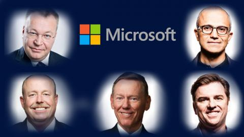 Candidatos a CEO Microsoft
