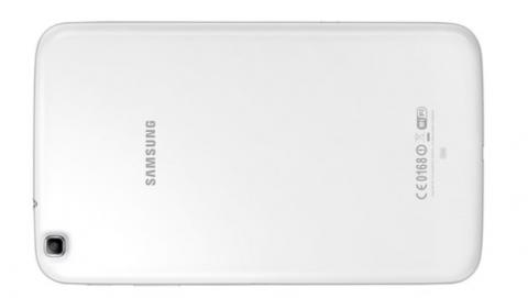 Samsung Galaxy Tab 3 8.0 parte trasera