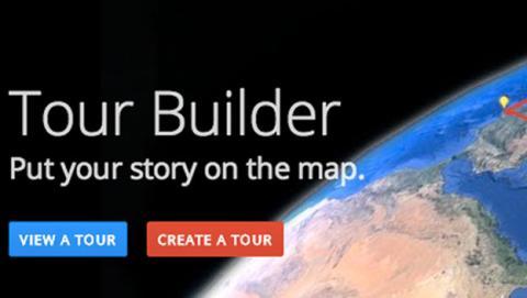 Tour Builder de Google Earth