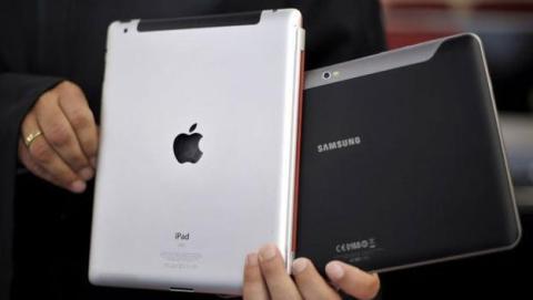 Apple, el iPad y Samsung
