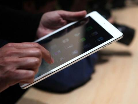 iPad Air escritura