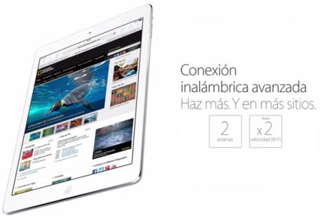 iPad Air conectividad