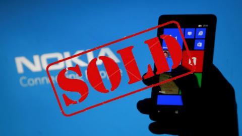 Accionistas Nokia aprueban venta