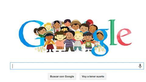 Doodle de Google Día Universal del Niño