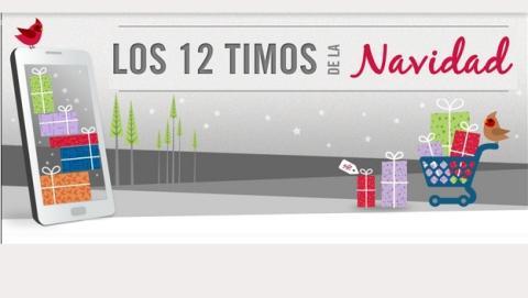 Los doce timos de la Navidad, según McAfee