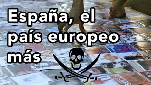 españa piratería
