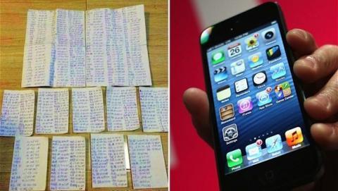Ladrón de iPhone envía SIM y lista de contactos a víctima