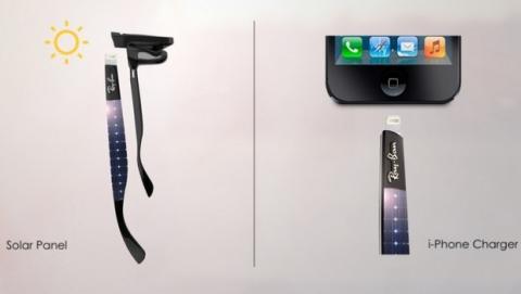 Ray-ban con cargador iPhone