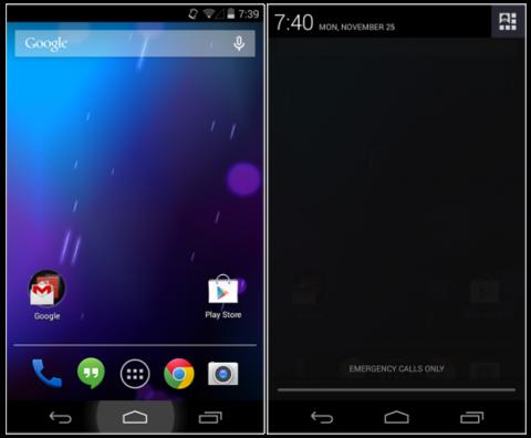 Errores Android KitKat Nexus 4