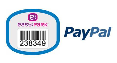 EasyPark y PayPal