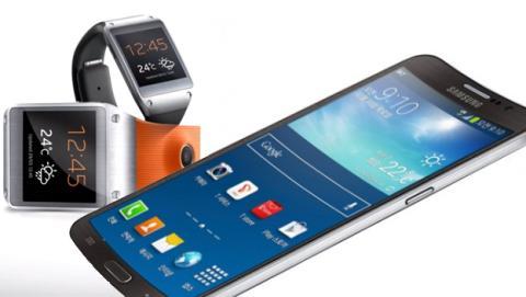 Samsung Galaxy S5 y Galaxy Gear