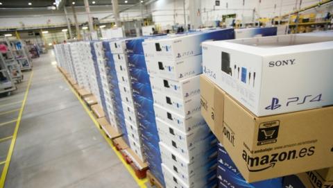 La consola PS4 es el producto de ocio más demandado en Amazon España