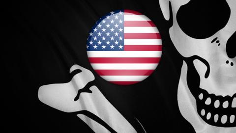 piratería gobierno eeuu
