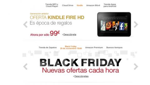 Chollos y descuentos del Black Friday de Amazon España