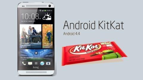 Android 4.4 KitKat ya disponible en los HTC One libres