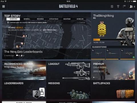 Battlefield 4 App