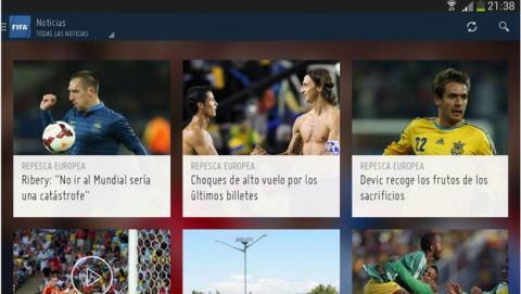 Se estrena la app oficial de la FIFA para seguir el Mundial de Fútbol Brasil 2014