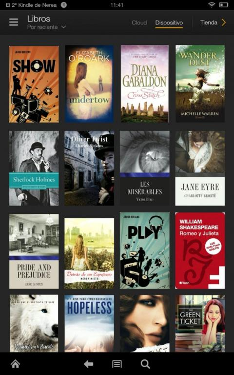 Libros Kindle Fire HDX