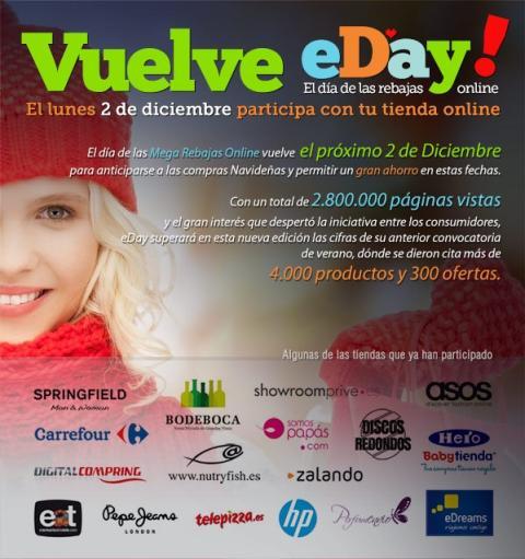 eDay!, ofertas de Cyber Monday en España