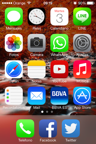 icono Whatsapp iOS 7