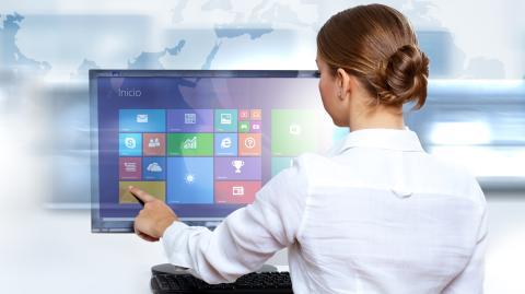Monitores táctiles para Windows 8