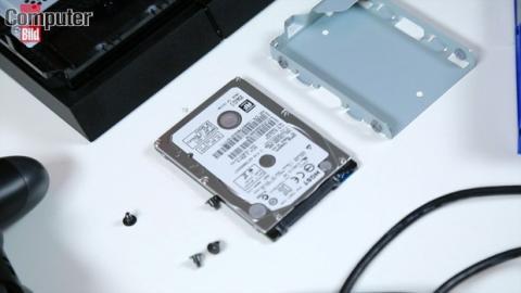 cambiar disco duro ps4