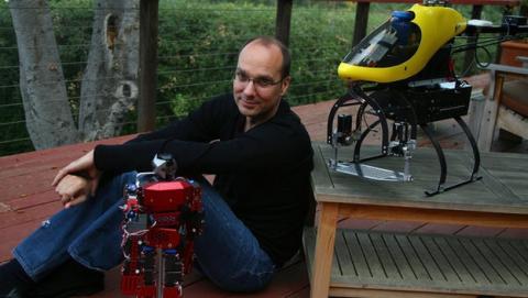 Andy Rubin abandona Android para trabajar en un proyecto secreto de robots para Google