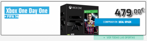 pack xbox one con fifa 14