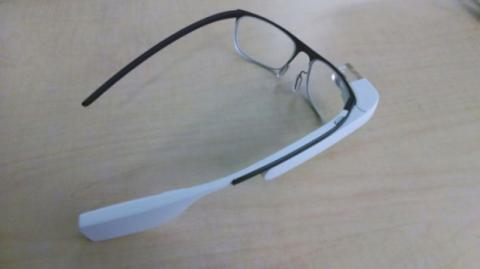 Imagen prototipo Google Glass de prescripción