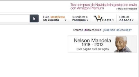 Homenaje de Amazon a Mandela