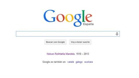 Mandela en Google