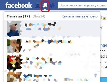 mensajes fb