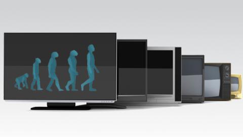 La historia de los televisores